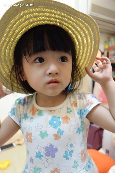 小小橘的草帽