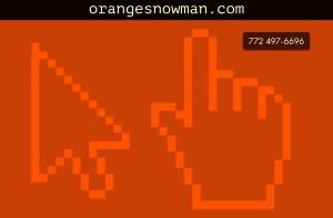 Orange Snowman- click here