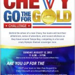 Chevy Go For The Gold Challenge
