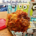 The Best Meatballs Ever! (on my blog)