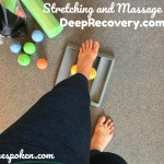 Stretching and Massage with DeepRecovery.com (#giveaway)