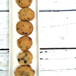 Sea salt and pecan chocolate chip cookies
