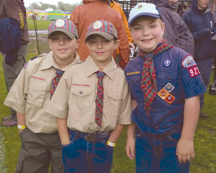 Three Orange Cub Scouts Achieve Scouting Highest Award, Arrow of Light