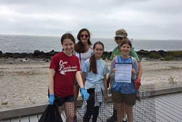 Girl Scouts Clean Up Silver Sands
