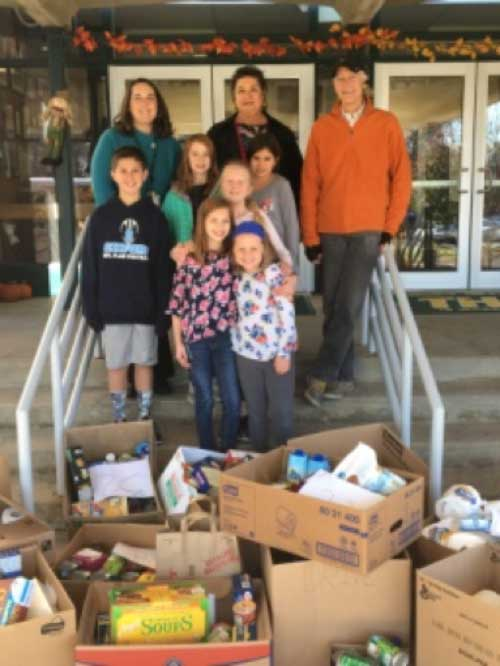 Turkey Hill School Food Drive Was A Success