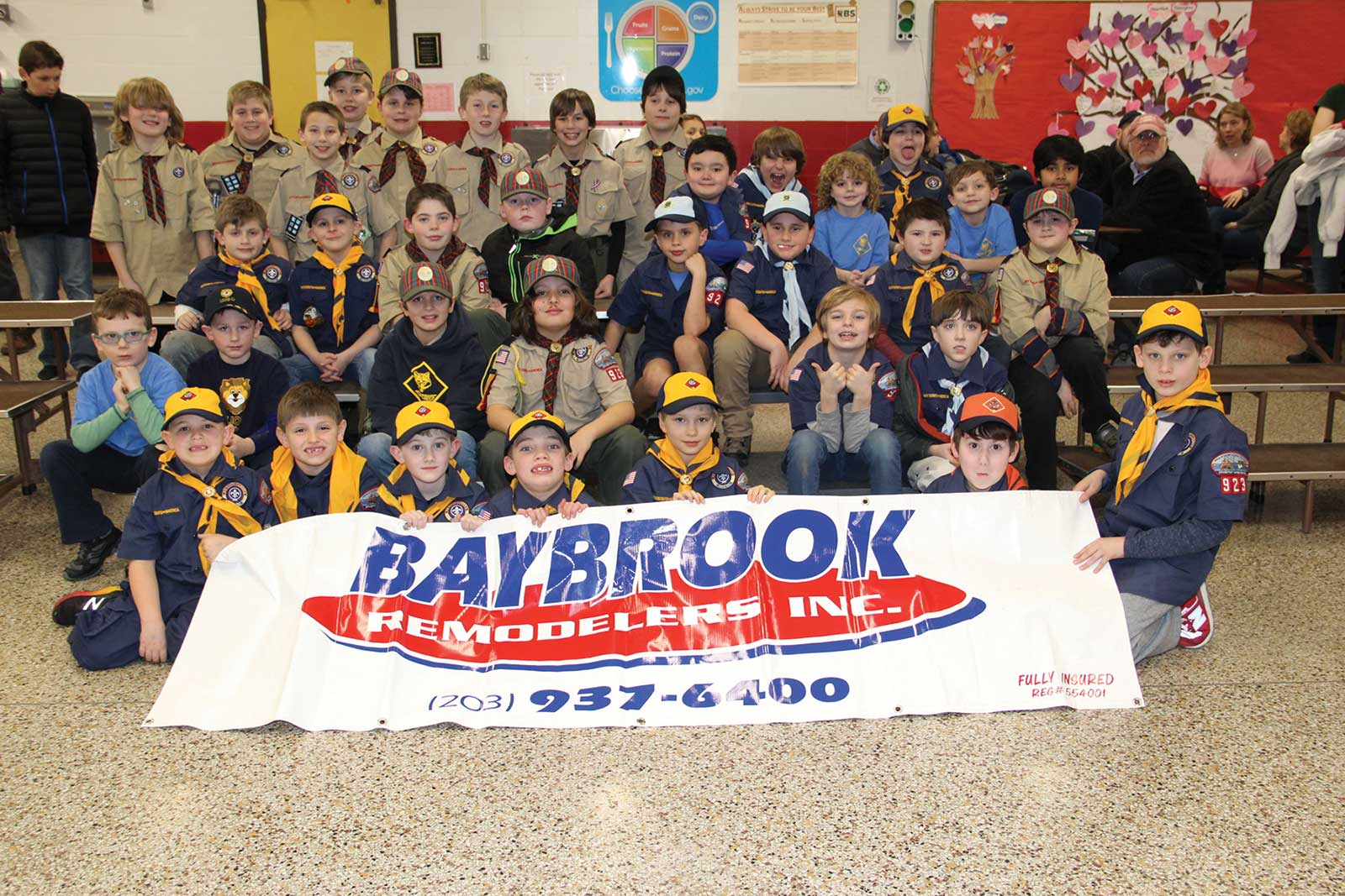 Cub Scout Pack 923 Races To Fill Food Bank!