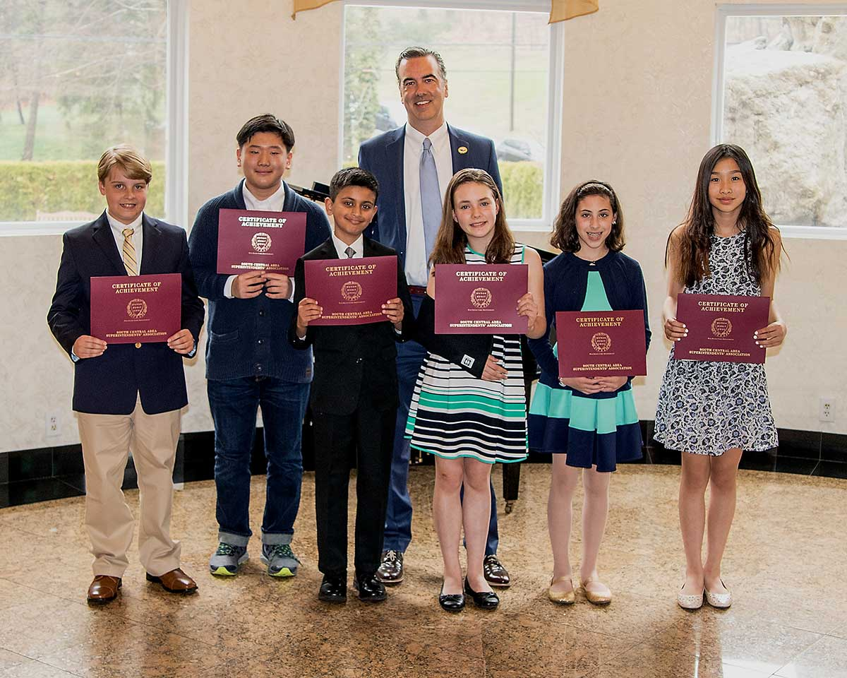 Area Superintendents Recognize Student Accomplishments