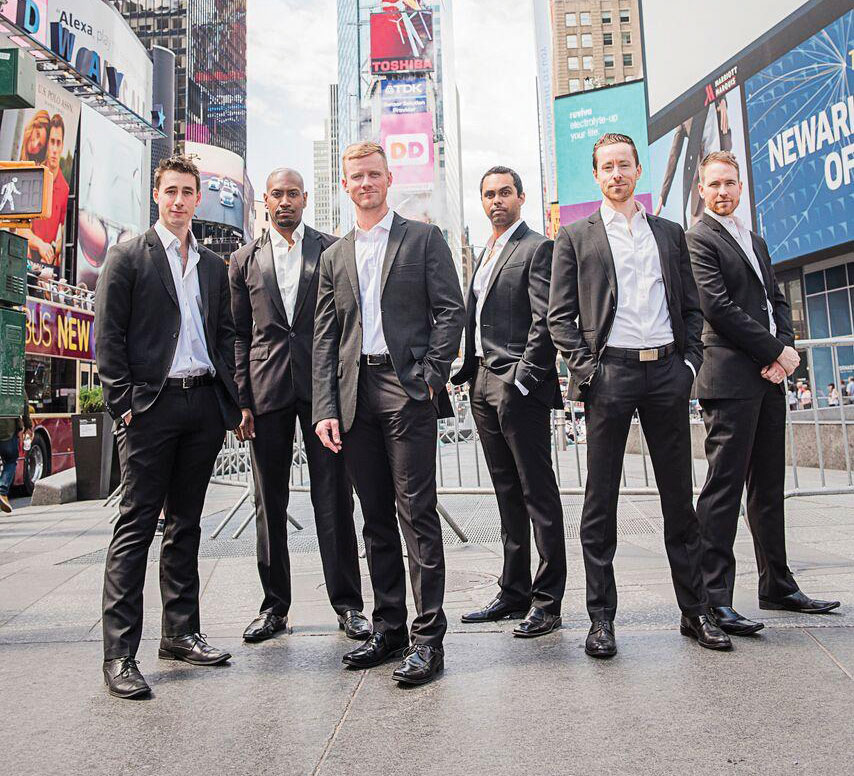 """""""THE BROADWAY BOYS"""" featured for the Evening for the Arts Gala Benefit"""