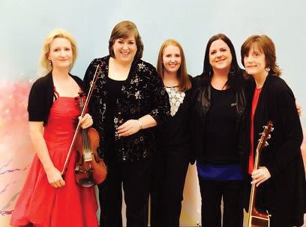 "Irish Super-Group ""Cherish The Ladies"" Perform in Milford"