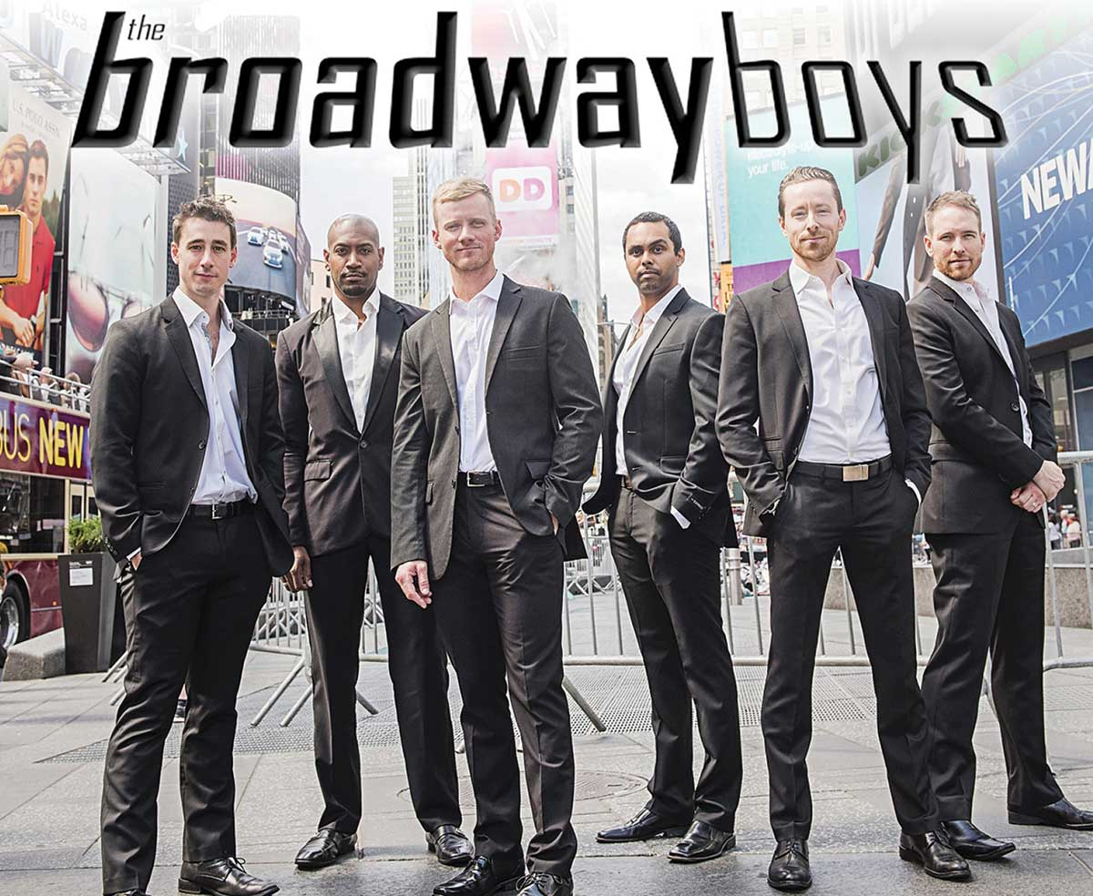 """THE BROADWAY BOYS To Headline """"Evening For The Arts"""""""