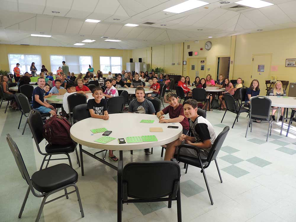 Orange Youth Services Incoming 7th Graders Super Gift Cards & Raffle Bingo, Pizza Party Fun for All