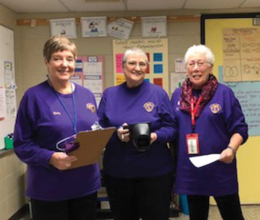 Orange Lions Club Provides Vision Screening To Students