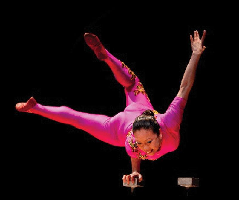 Orange Community Women Presents Li Liu, Acrobat