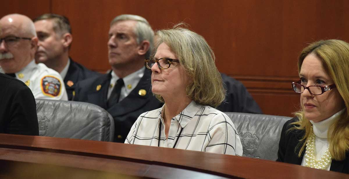 Rep. Kathy Kennedy Joins Fire/EMS Caucus