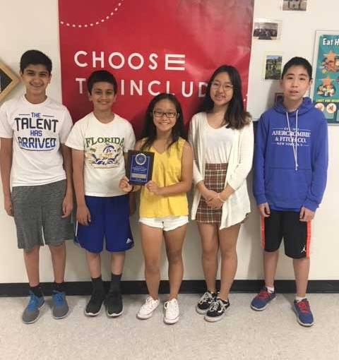 Amity Middle School Top Performers In New England Math League Regional Math Contest