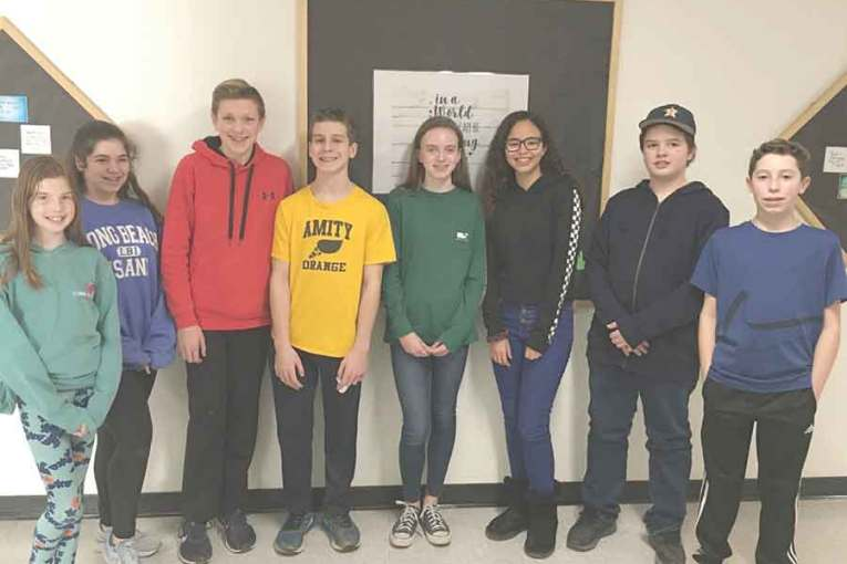 Amity Middle School Students Recognized for their Good Character