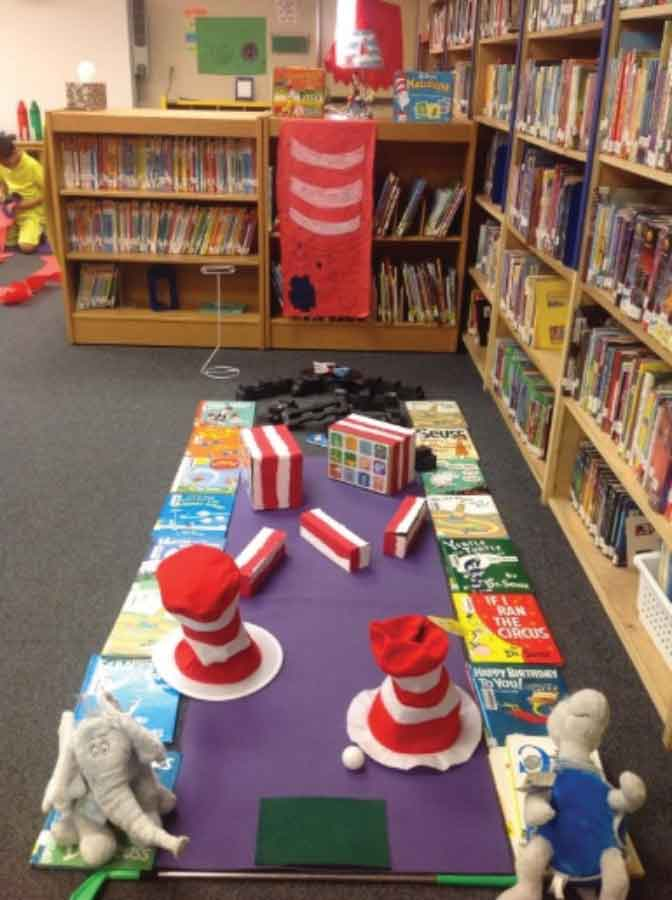 Save The Date for Library Mini Golf