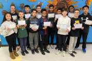 Outstanding Performers In New England Math League Contest