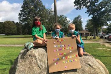 Scouts Hold Successful Drive for School Supplies