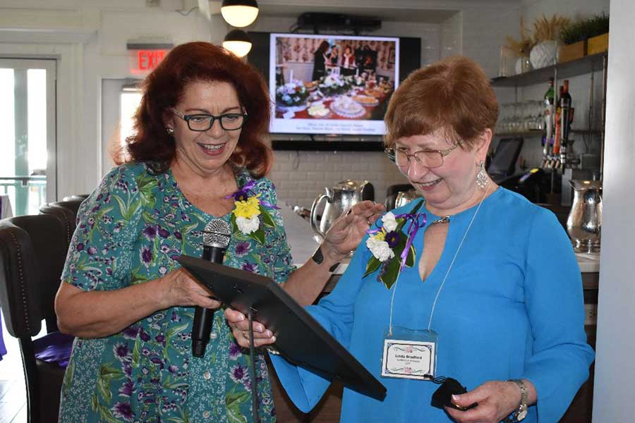 The Garden Club of Orange Annual Luncheon Meeting and celebration of the club's 90th year!