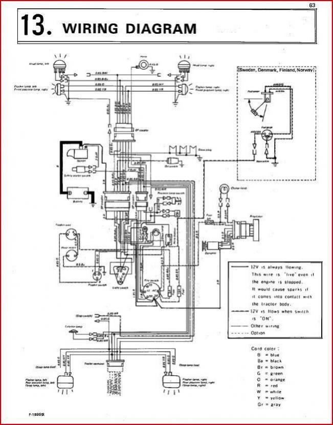 Kubota Ignition Switch Wiring Diagram : kubota, ignition, switch, wiring, diagram, Plugs, B7100, OrangeTractorTalks, Everything, Kubota