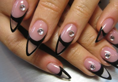 Clear Nail Art Designs