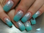 teal nails orange tree beauty