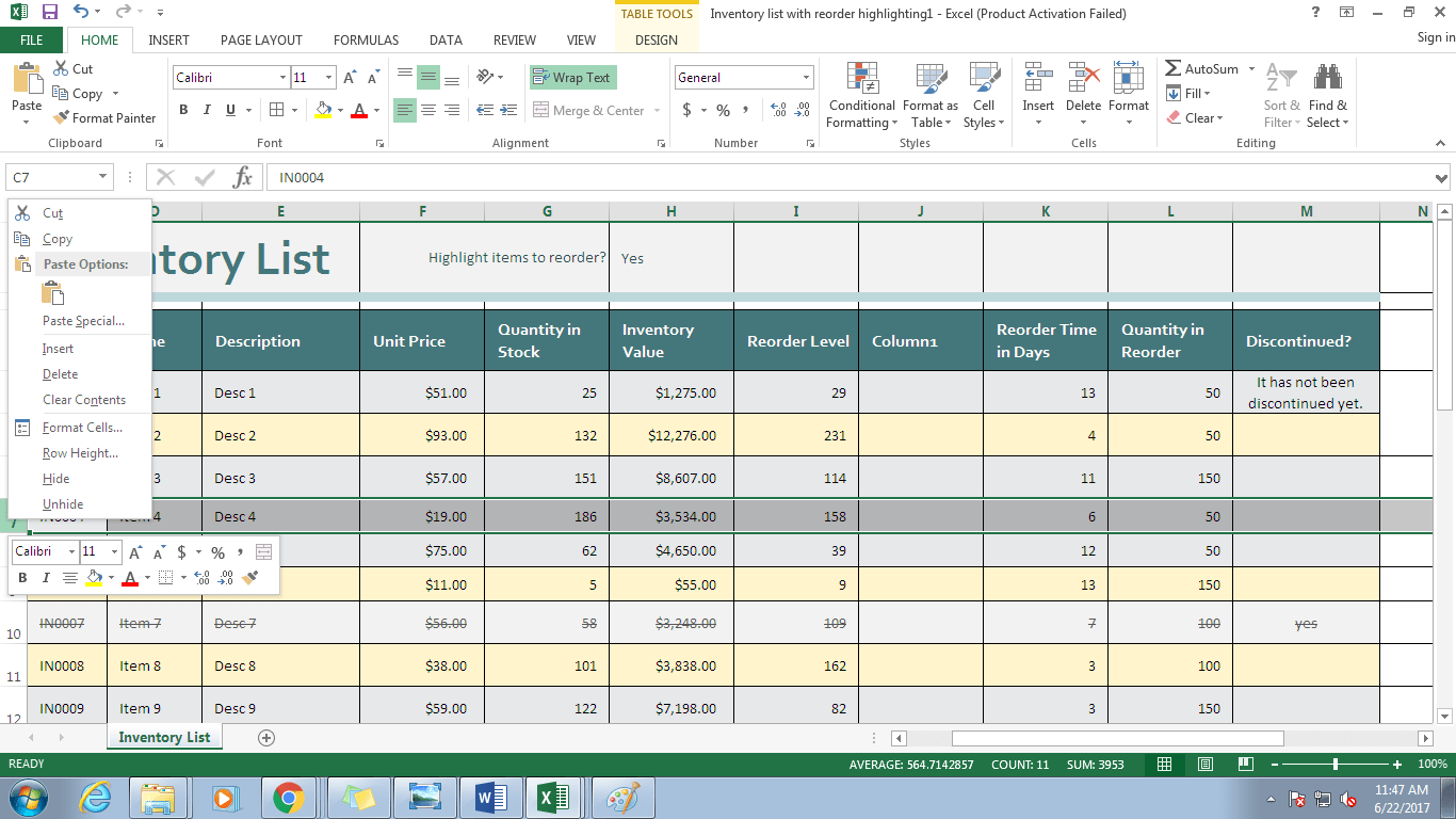 Working With Worksheets In Excel