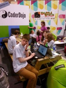 One of my favourite presentations last year - getting kids to code