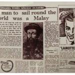Panglima Awang, orang Melayu pertama yang mengelilingi dunia