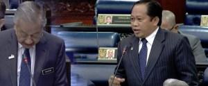 Ahmad Maslan Tanya Tun Mahathir Mohamad