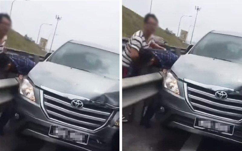 Kemalangan Bergaduh Video Screenshot 110819 1
