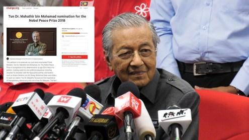 Mahathir Nobel Prize