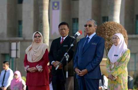 Mahathir Berucap