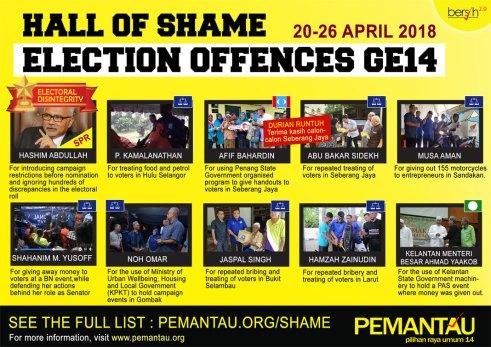 Pru14 Kesalahan Pilihan Raya