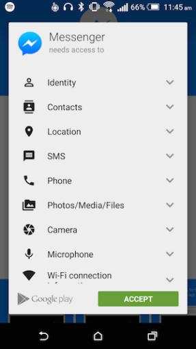 Access Messenger Kebenaran Data