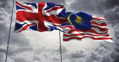 Britain Malaysia Bendera