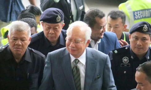 Najib Ditahan Polis Tangkap