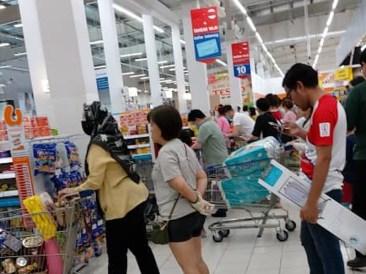 Malaysia Panic Buying 20200316