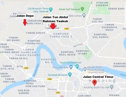 Jalan Google Map Badut