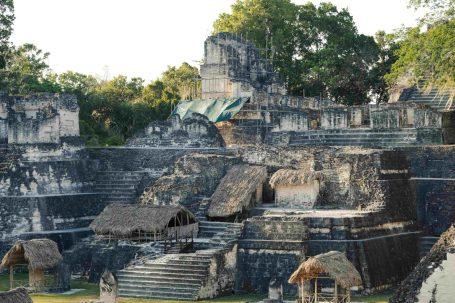 Tikal Latin Temple