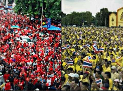 Red Yellow Shirts