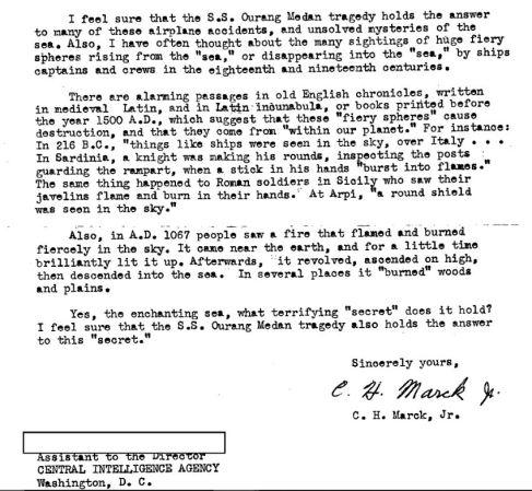 Surat Cj Marck