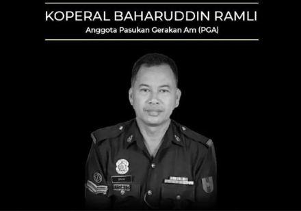 Koperal Baharuddin Ramli Pga
