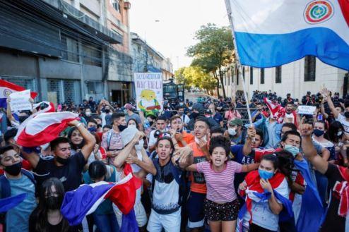 paraguay vaksin demonstrasi