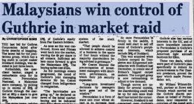 malaysia win raid control guthrie