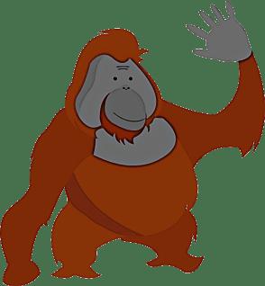It's the Orangutan Trading Co logo!