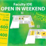 Opening of IDE in the weekend of 24th and 25th of June