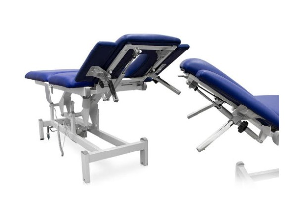 Three Sections Electric Treatment Table - Height Adjustable Armrests 5