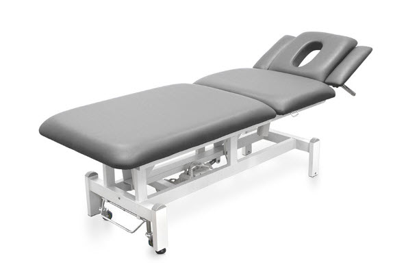 Three Sections Electric Treatment Table - Height Adjustable Armrests 7